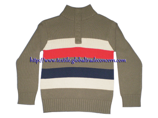 Gent's Button Sweater