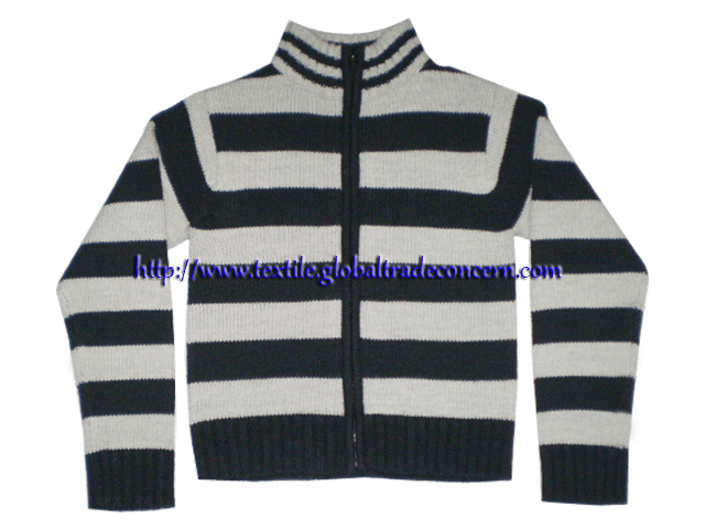Gent's Zipper Sweater