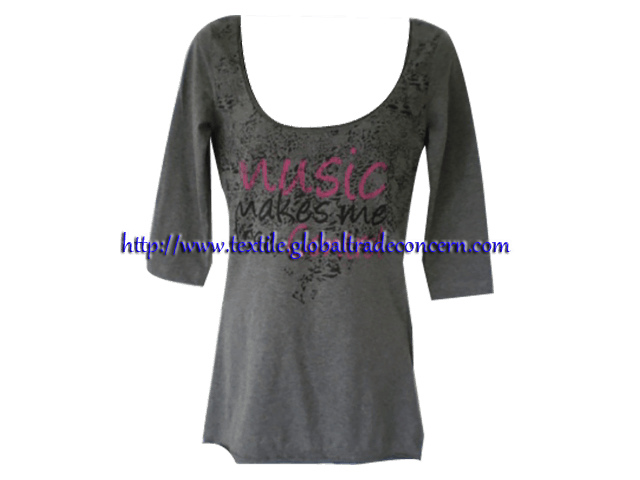 Lady's Full Sleeve T-Shirt