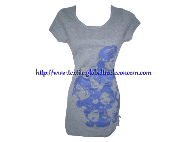 Lady's half Sleeve T-Shirt